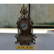 Reloj de bronce.